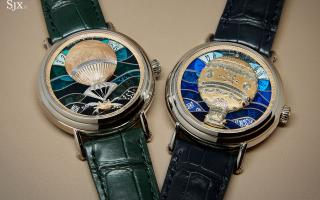 Kỹ thuật chế tác thủ công của đồng hồ Métiers d'Art
